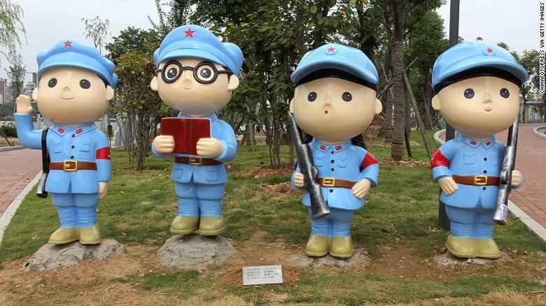 Trung Quốc mở công viên Đảng Cộng sản - ảnh 2