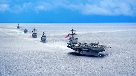 Ấn Độ, Mỹ, Nhật Bản tập trận chung khiến Trung Quốc quan ngại - ảnh 1