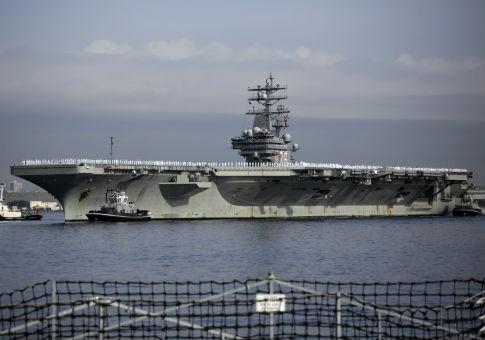 Tàu ngầm Trung Quốc theo dõi tàu sân bay Mỹ ngoài khơi Nhật Bản - ảnh 1