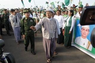 Myanmar tổ chức bầu cử lần đầu tiên sau 25 năm - ảnh 1
