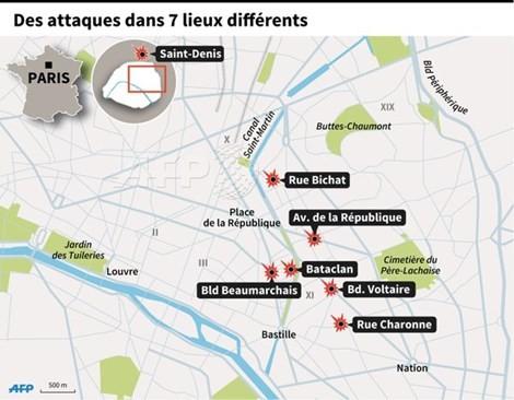 Cập nhật khủng bố ở Paris: Xác nhận tám kẻ tấn công đã chết - ảnh 1