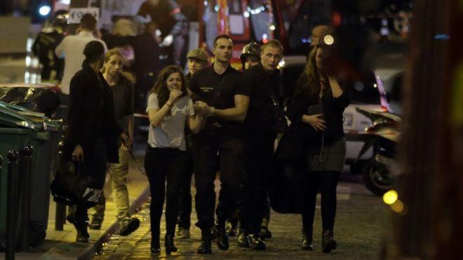 Khủng bố tấn công Paris có liên quan tới nước Anh - ảnh 1