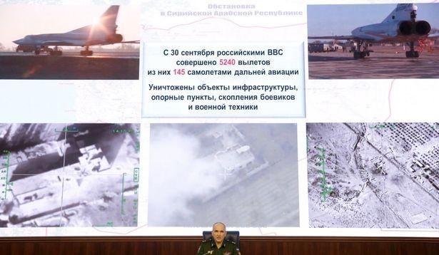 Nga ném bom dồn dập vào cứ điểm trữ xăng của IS - ảnh 1