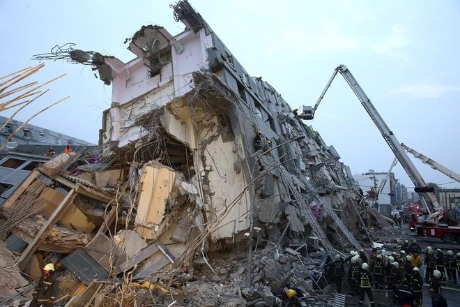 Vụ động đất Đài Loan: 14 người chết và 150 người mất tích - ảnh 1
