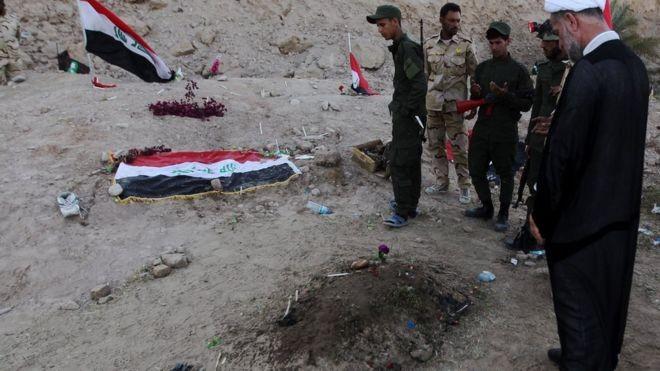 Iraq tuyên án tử hình với 40 tay sai của IS - ảnh 1