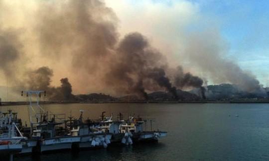 Triều Tiên nã pháo gần đảo Hàn Quốc ở Hoàng Hải - ảnh 1