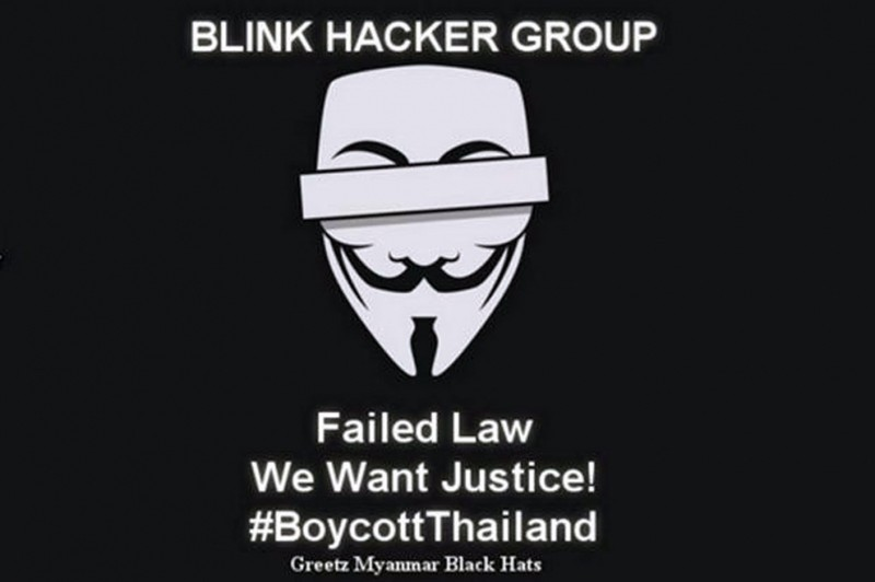 Tin tặc Myanmar tấn công chính phủ Thái Lan để trả thù   - ảnh 1