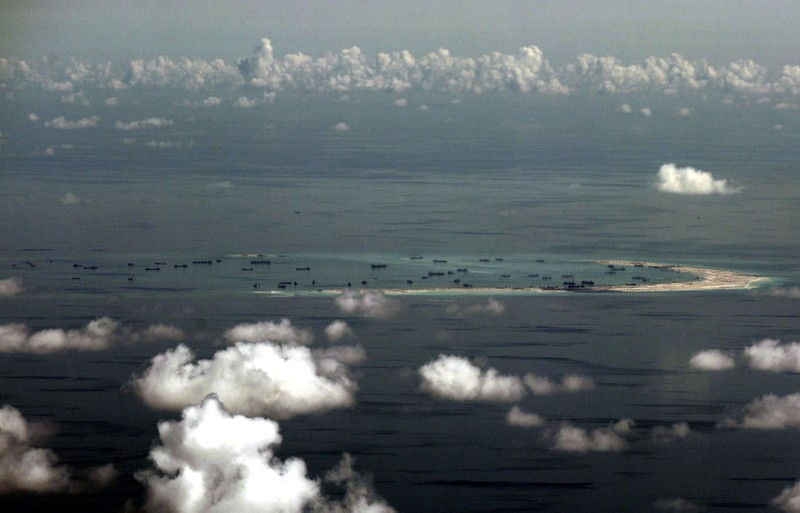 Tàu Trung Quốc không còn ở đảo Hải Sâm của Trường Sa - ảnh 1