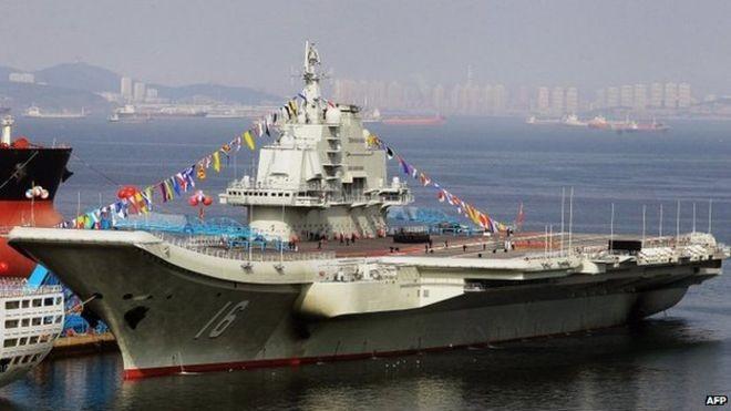Tham vọng lập đội tàu sân bay 'khủng' của Trung Quốc - ảnh 1