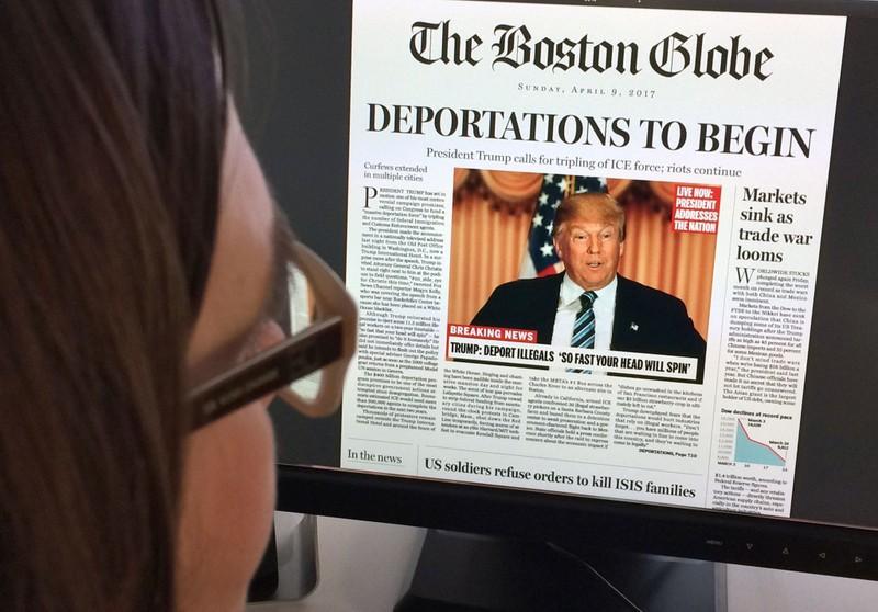 Bi hài báo Mỹ châm biếm 'Nếu Trump làm tổng thống...' - ảnh 1