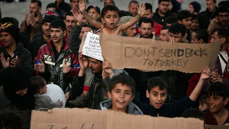90.000 trẻ em xin tị nạn tại châu Âu - ảnh 1