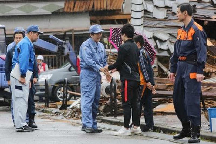 Nhật Bản phải chi hơn 4,5 tỉ USD để phục hồi sau động đất - ảnh 1