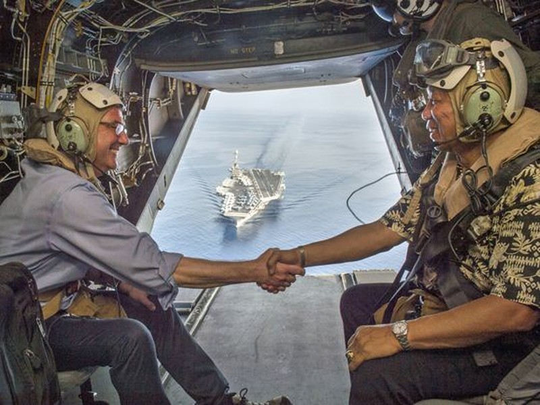 Quốc hội Mỹ đôn đốc tuần tra nhiều hơn ở biển Đông   - ảnh 1
