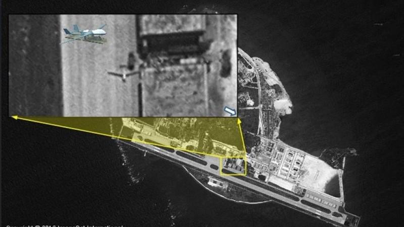 Trung Quốc đưa máy bay không người lái tàng hình ra Hoàng Sa - ảnh 1