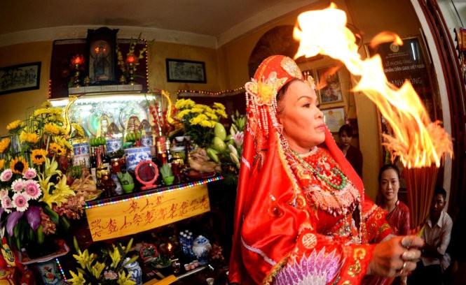 Tín ngưỡng thờ Mẫu là di sản văn hoá đại diện của nhân loại