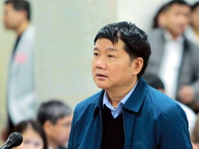 Ông Đinh La Thăng từ chối trả lời LS vì lý do sức khỏe - ảnh 1
