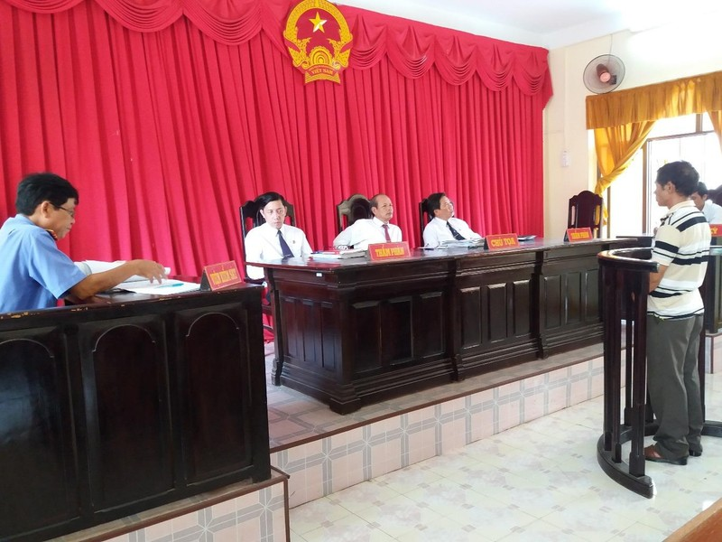 Bị cáo Phạm Đình Sỹ  liên tục kêu oan tại phiên tòa phúc thẩm ngày 5-9