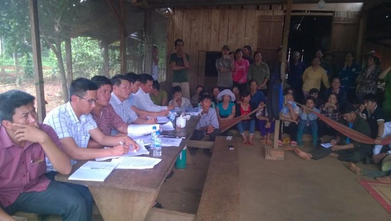 Vụ nổ súng ở Đắk Nông: Huyện họp dân lấy ý kiến - ảnh 1