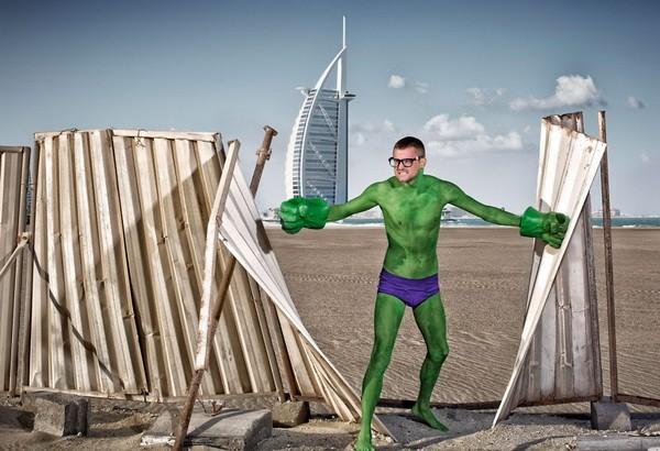 Thú vị bộ ảnh siêu anh hùng lấm lem - ảnh 16