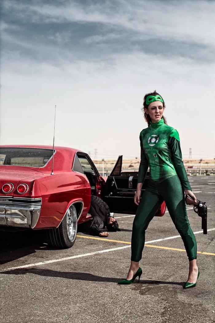 Thú vị bộ ảnh siêu anh hùng lấm lem - ảnh 17