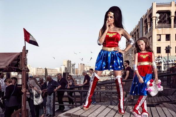 Thú vị bộ ảnh siêu anh hùng lấm lem - ảnh 19