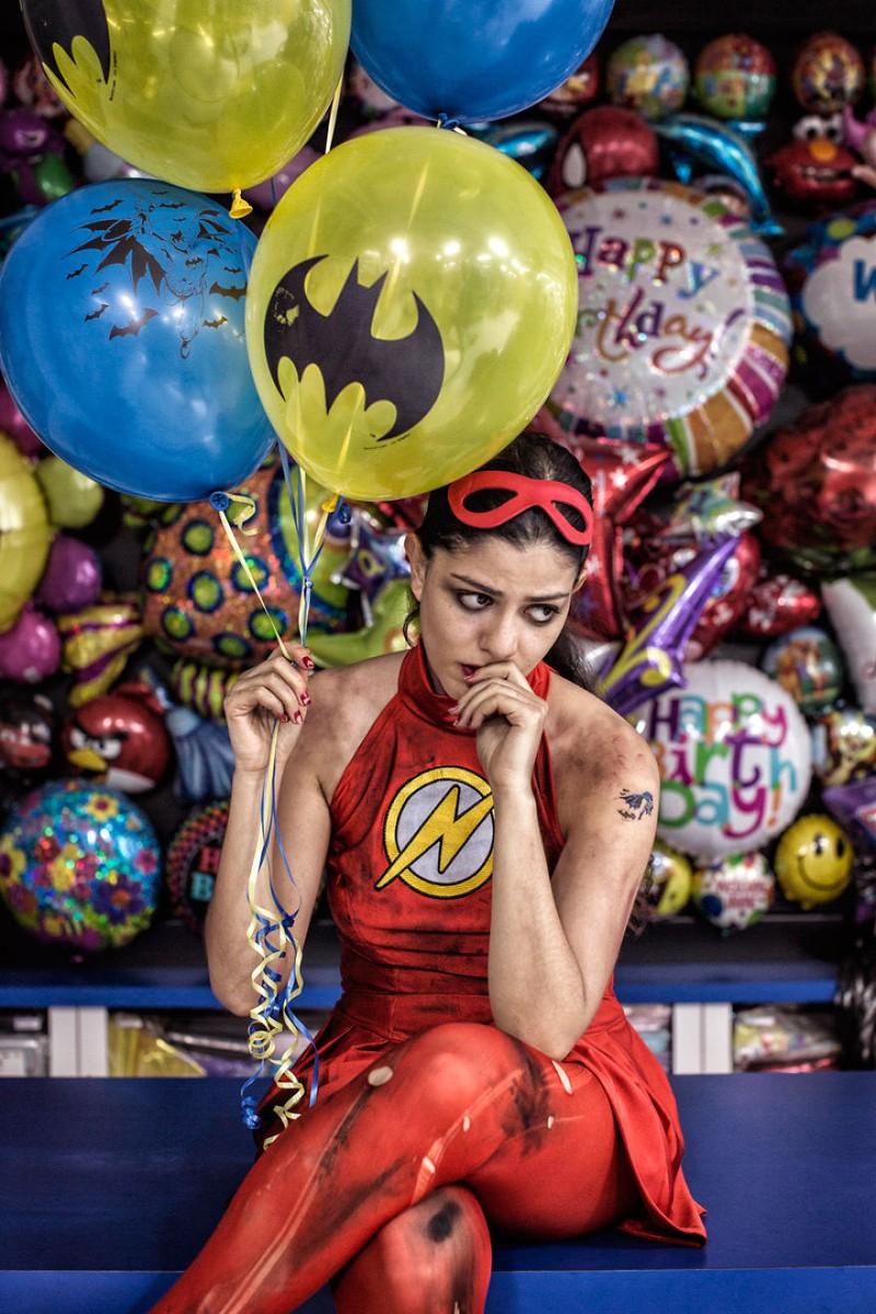 Thú vị bộ ảnh siêu anh hùng lấm lem - ảnh 7