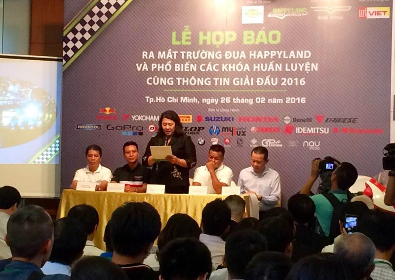 Ra mắt trường đua chuyên nghiệp đầu tiên tại Việt Nam   - ảnh 1