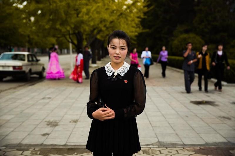 Ngắm vẻ đẹp mộc mạc của phụ nữ Triều Tiên - ảnh 11