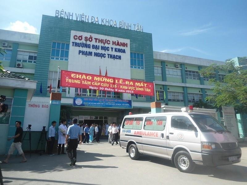 TP.HCM: Thêm 3 trung tâm cấp cứu 115 đi vào hoạt động - ảnh 1