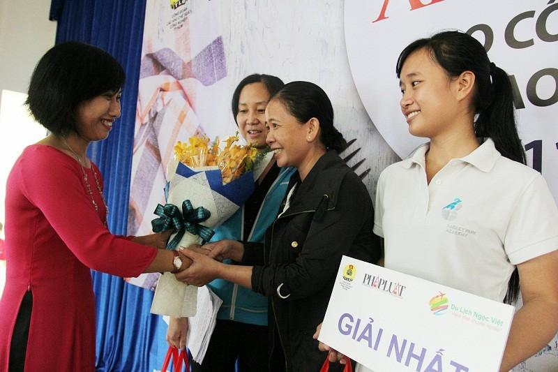 KCN Tân Bình giành giải nhất thi đố pháp luật về ATVSTP - ảnh 4