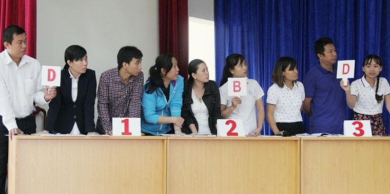 KCN Tân Bình giành giải nhất thi đố pháp luật về ATVSTP - ảnh 1