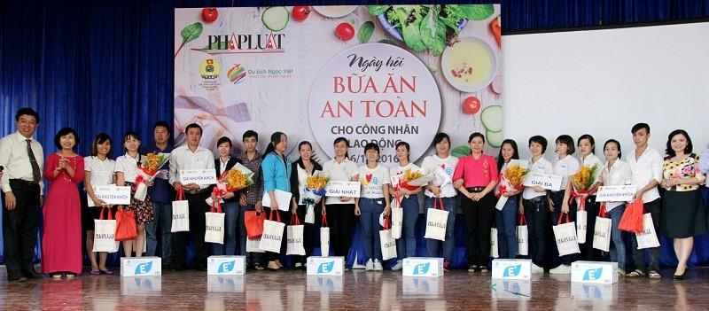 KCN Tân Bình giành giải nhất thi đố pháp luật về ATVSTP - ảnh 5
