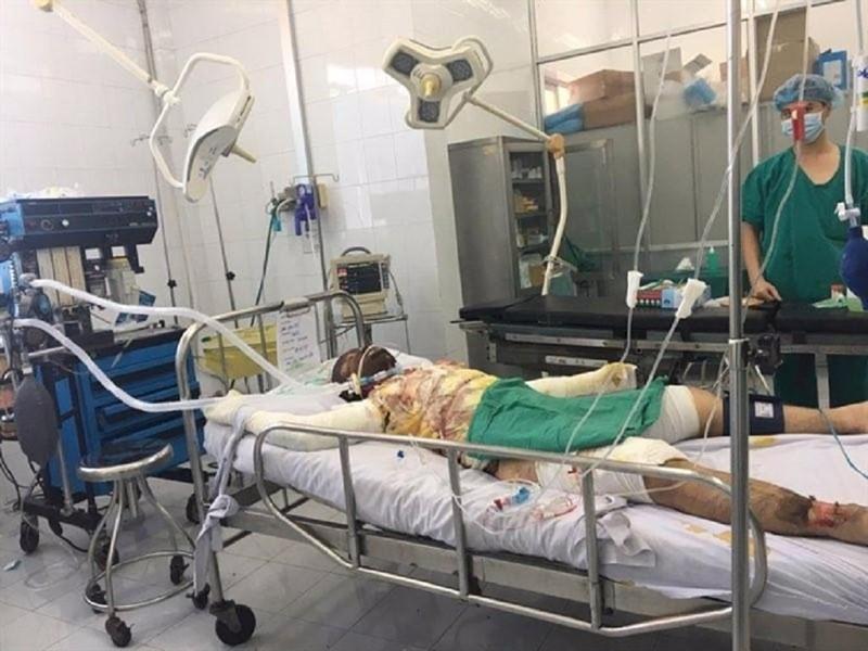 Bệnh nhân đang được điều trị tích cực tại BV Chợ Rẫy.