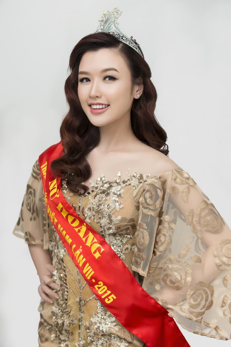 Hoa hậu áo dài  Đàm Lưu Ly tái xuất với một rừng người đẹp - ảnh 6