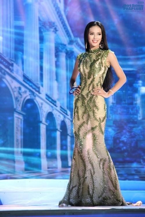 Hoa hậu áo dài  Đàm Lưu Ly tái xuất với một rừng người đẹp - ảnh 4