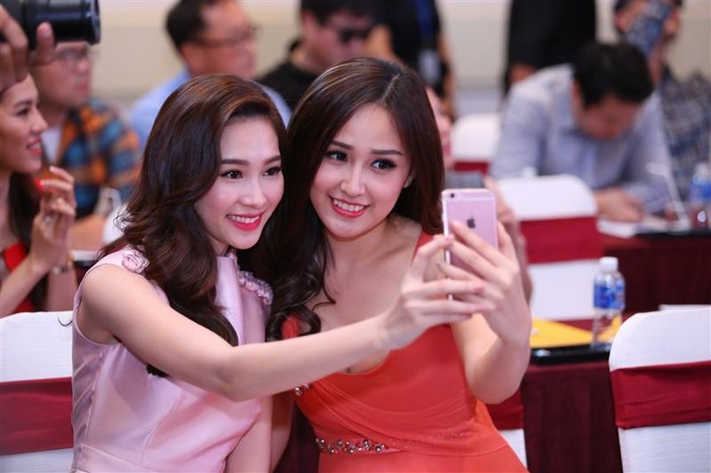 Tám hoa hậu, á hậu Việt Nam cùng đọ sắc - ảnh 12