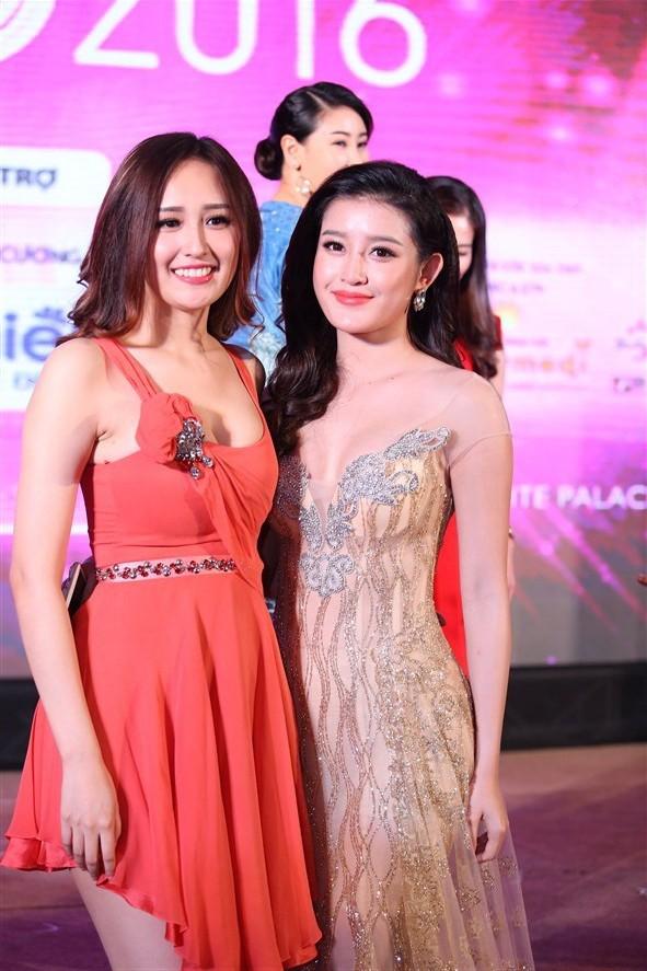 Tám hoa hậu, á hậu Việt Nam cùng đọ sắc - ảnh 6