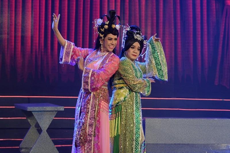 Minh Nhí, Long Nhật giả gái làm Thúy Vân, Thúy Kiều - ảnh 1