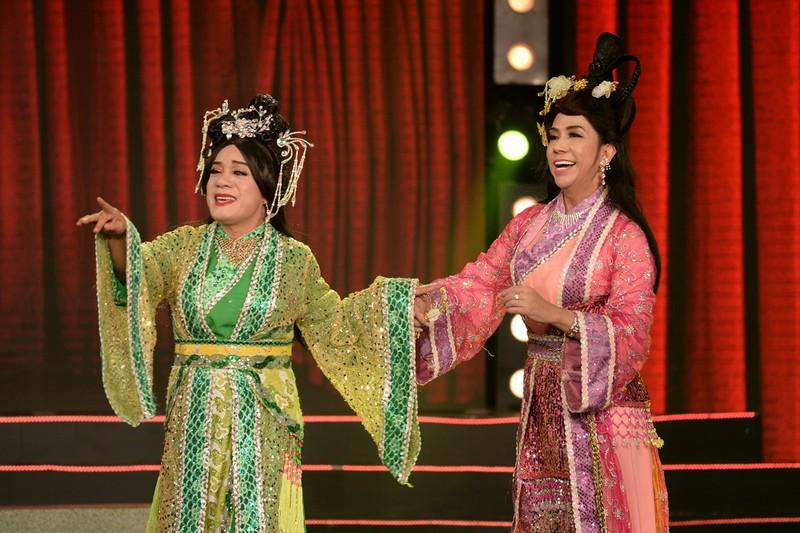 Minh Nhí, Long Nhật giả gái làm Thúy Vân, Thúy Kiều - ảnh 3