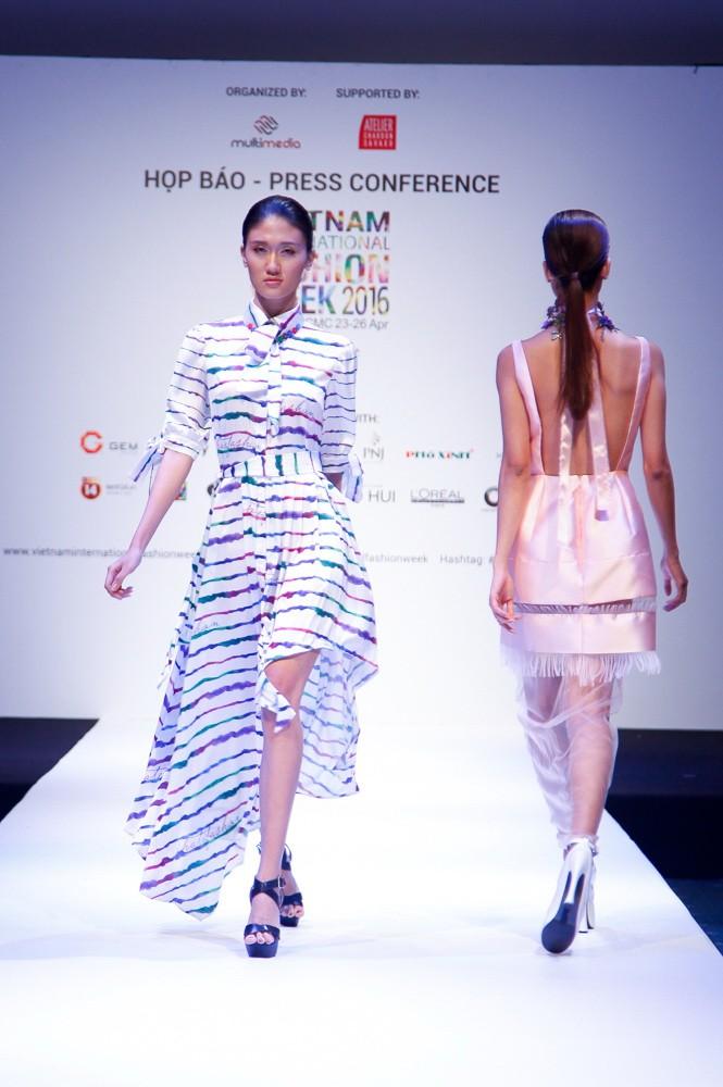 6 nhà thiết kế nước ngoài tại 'tuần lễ thời trang quốc tế Việt Nam' - ảnh 5