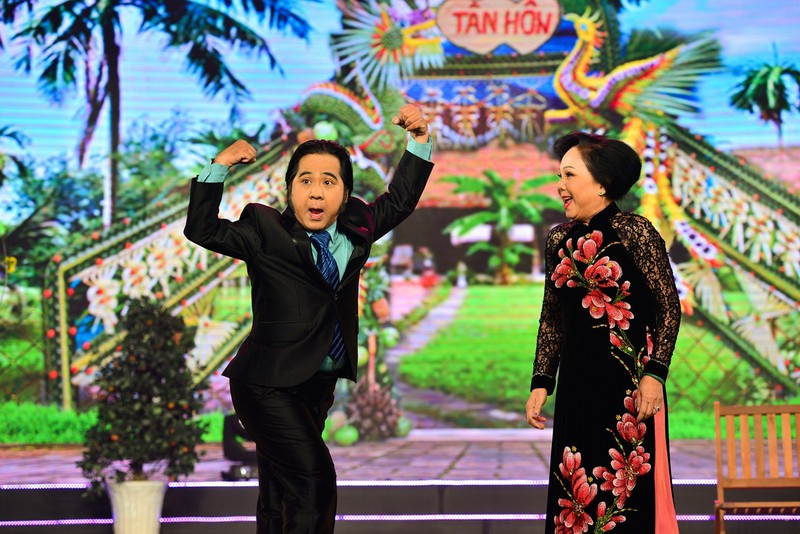 Nghệ sĩ Bạch Long và Kiều Mai Lý tái xuất trên tivi - ảnh 1