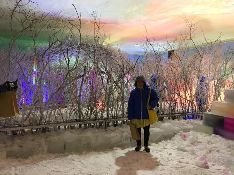 Trải nghiệm băng giá, tuyết rơi giữa Sài Gòn - ảnh 2