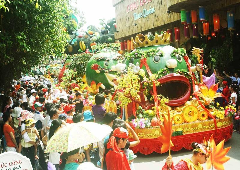 'Lễ hội Trái cây Nam Bộ 2016': Phong phú, đa dạng đủ loại trái cây - ảnh 5