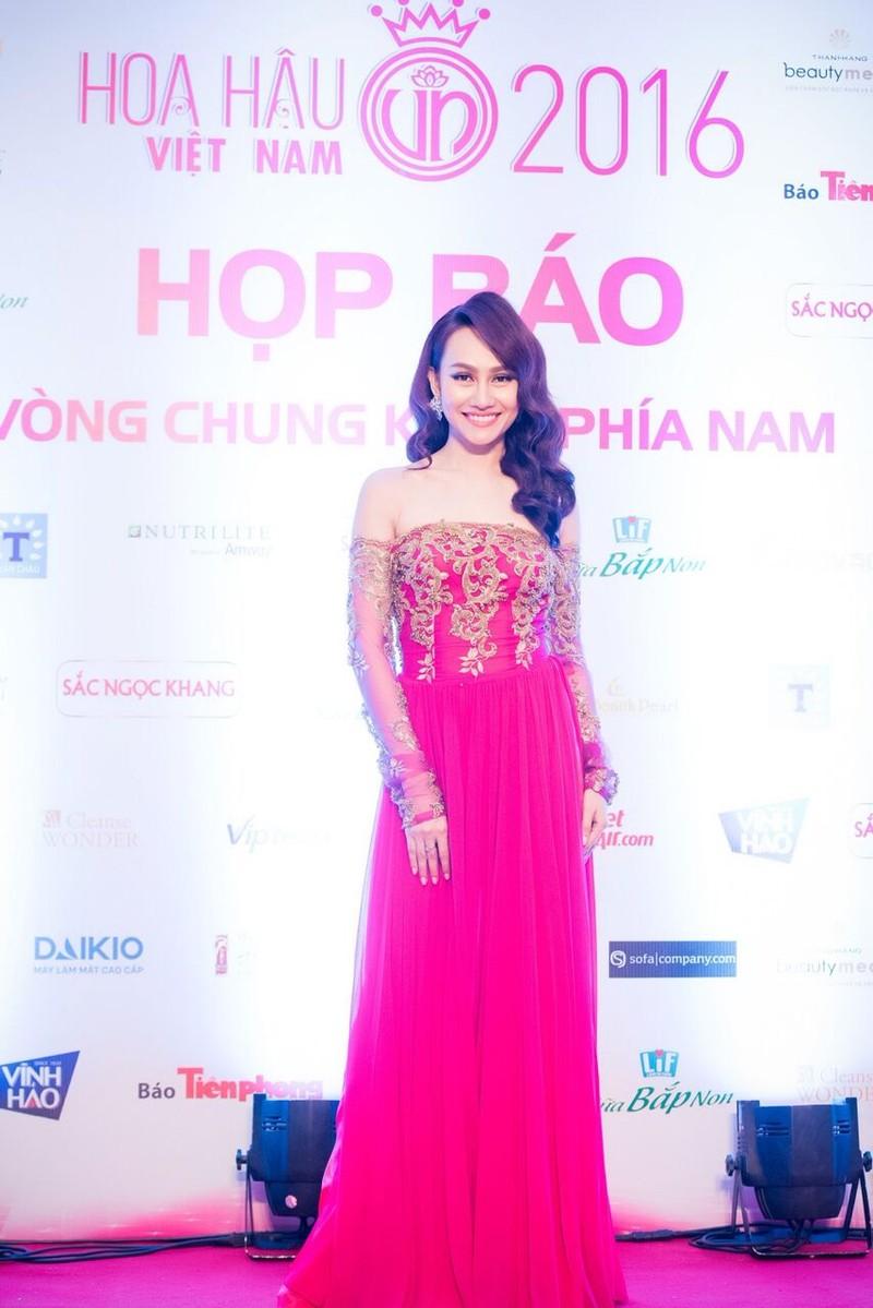 Dàn hoa hậu, người đẹp đọ sắc trước 'Hoa hậu Việt Nam 2016' - ảnh 8