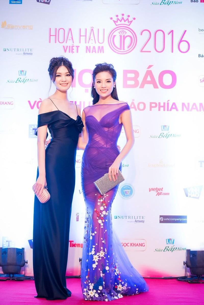 Dàn hoa hậu, người đẹp đọ sắc trước 'Hoa hậu Việt Nam 2016' - ảnh 7