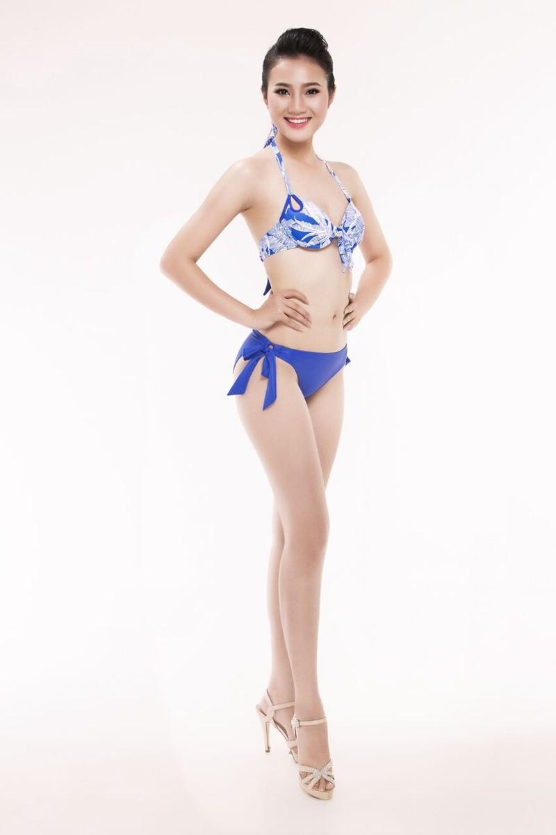 Ngắm thí sinh 'Hoa hậu Việt Nam 2016' qua trang phục bikini - ảnh 10