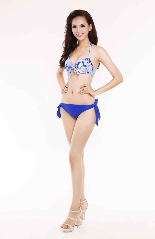 Ngắm thí sinh 'Hoa hậu Việt Nam 2016' qua trang phục bikini - ảnh 21