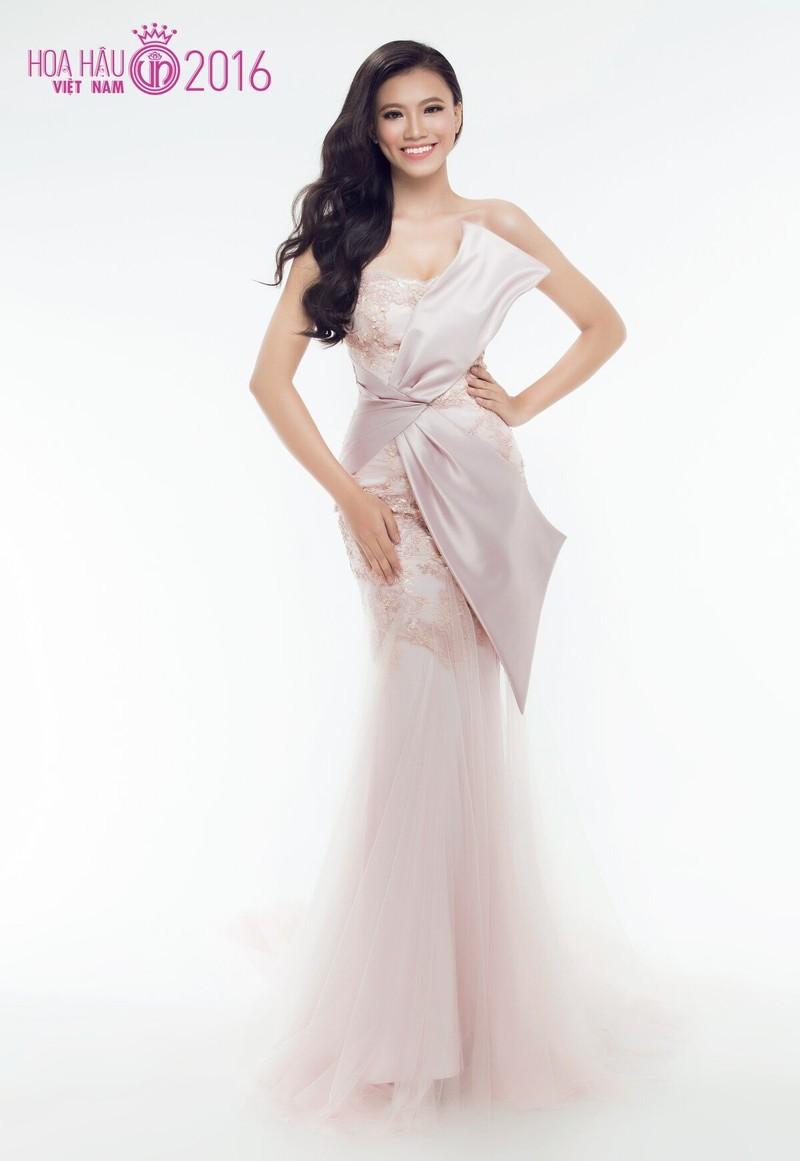 Thí sinh 'Hoa hậu VN 2016' lộng lẫy khoe áo dạ hội - ảnh 23