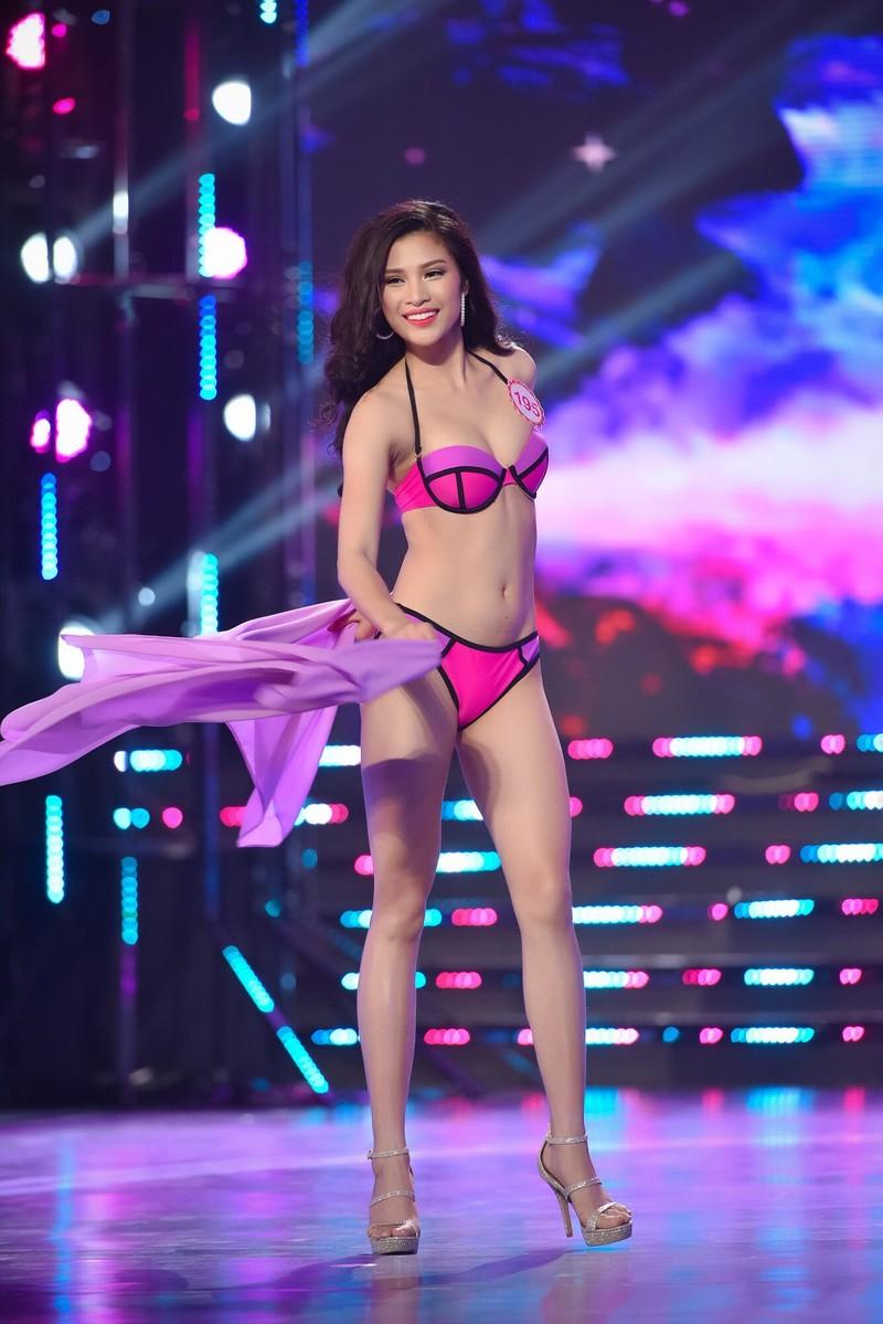 Thí sinh 'Hoa hậu Việt Nam 2016' quyến rũ ba vòng ở phần thi bikini - ảnh 5