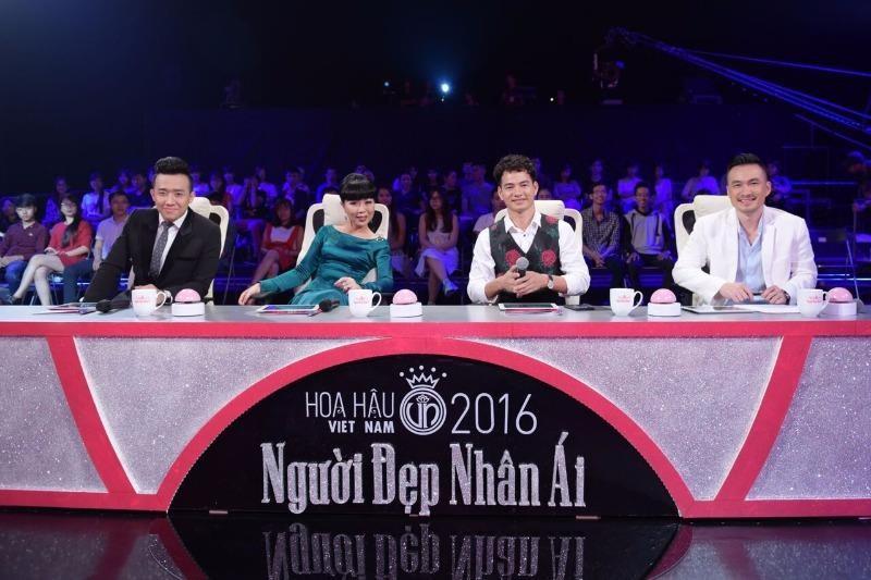 ban bình luận thí sinh hoa hậu việt nam 2016